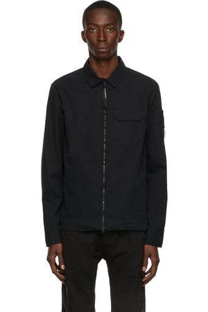 C.P. Company Black Gabardine Shirt