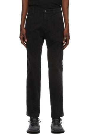 C.P. Company Black Stretch Sateen Trousers
