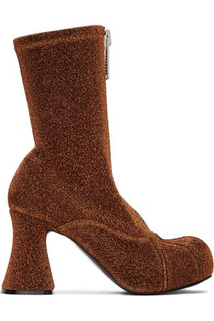 Stella McCartney Lurex Groove Sock Boots