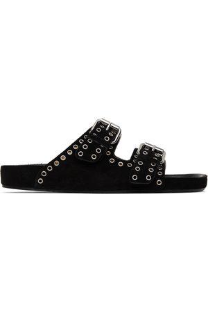 Isabel Marant Black Lennyo Sandals