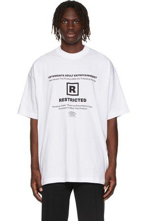 Vetements 18+ Restricted T-Shirt