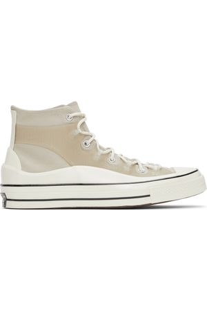 Converse Beige Chuck 70 Utility Hi Sneakers