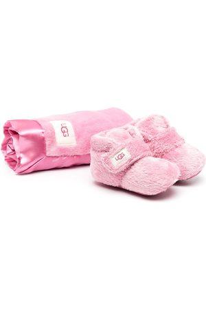 UGG Rain Boots - Baby fur booties