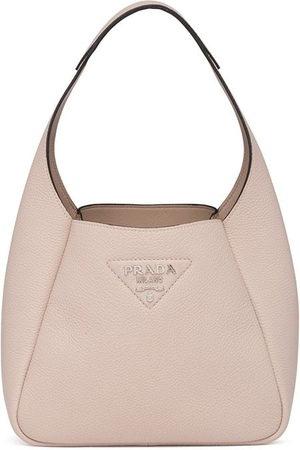 Prada Women Shoulder Bags - Logo-lettering shoulder bag