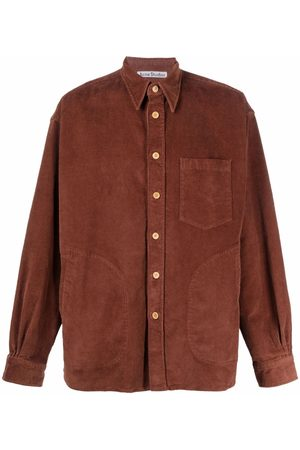 Acne Studios Men Long sleeves - Corduroy long-sleeve shirt