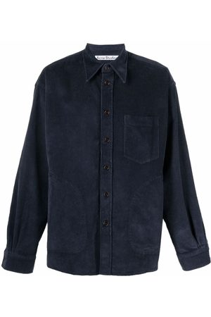 Acne Studios Corduroy long-sleeve shirt