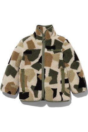Stella McCartney Kids Camouflage teddy jacket