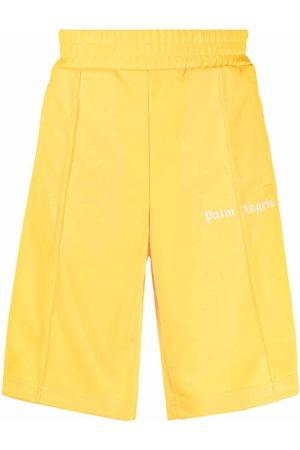Palm Angels Men Sports Shorts - CLASSIC TRACK SHORTS WHITE