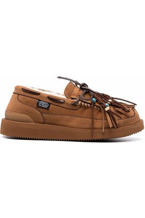Alanui Men Loafers - Suicoke tassel loafers