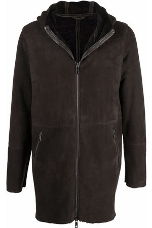 GIORGIO BRATO Men Coats - Hooded zip-up coat