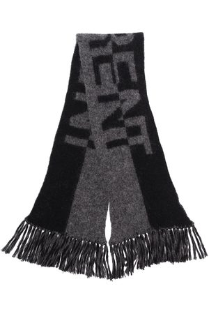 Saint Laurent Women Scarves - Split logo scarf