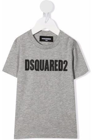 Dsquared2 T-shirts - Logo-print cotton T-shirt - Grey