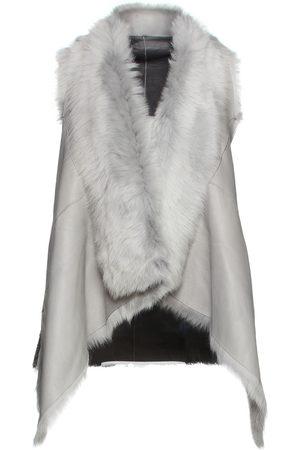 KARL DONOGHUE Woman Reversible Shearling Vest Size 10