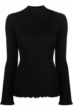 M Missoni Women Sweaters - Turtle-neck fitted jumper