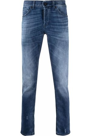 Dondup Men Straight - Stretch-denim straight-leg jeans