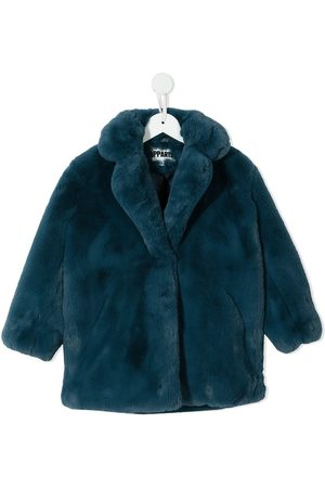 Apparis Girls Coats - Faux-fur coat