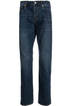 Paul Smith Men High Waisted - High-rise straight leg jeans