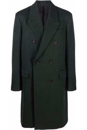 Bottega Veneta Men Coats - Double-breasted overcoat
