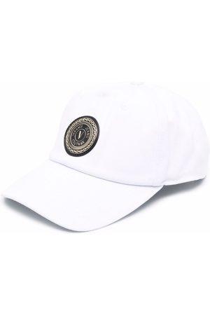 VERSACE Logo print baseball cap