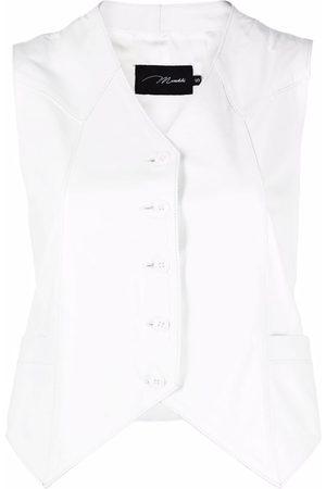 Manokhi Women Waistcoats - Button down waistcoat