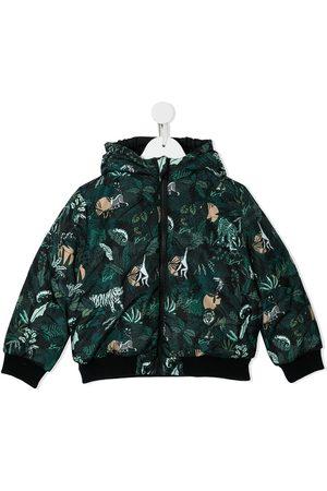 Kenzo Mystic print reversible padded jacket