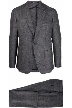 Tagliatore Textured virgin wool suit