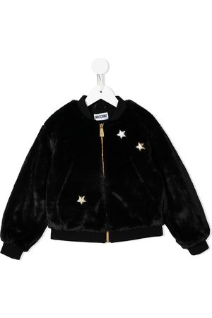 Moschino Girls Fleece Jackets - Teddy bear bomber jacket