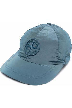 Stone Island Men Caps - Embroidered Compass-logo cap