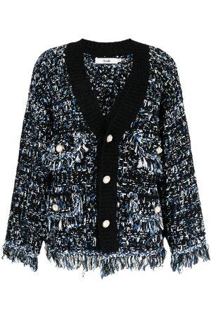 B+AB Tweed knitted cardigan
