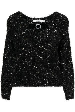 B+AB Bow-embellished jumper