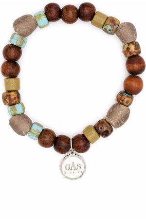 Gas Bijoux Men Bracelets - Leon beaded bracelet