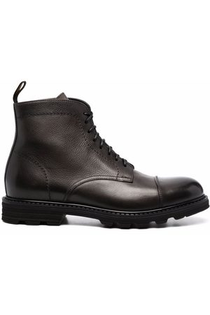 Doucal's Ankle lace-up boots