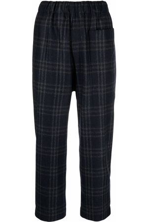 SOFIE D'HOORE Women Pants - Check cropped trousers