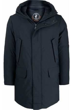 save the duck Men Parkas - Hooded padded parka