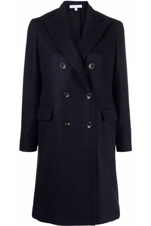 Boglioli Women Coats - Double-breasted wool coat
