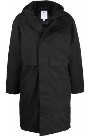 Y-3 Hooded parka coat