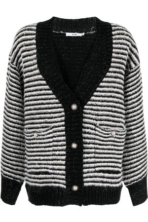 B+AB Stripe knit cardigan