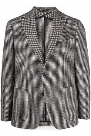 TAGLIATORE Check-print jacket