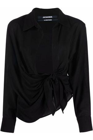 Jacquemus La chemise Bahia long-sleeve shirt