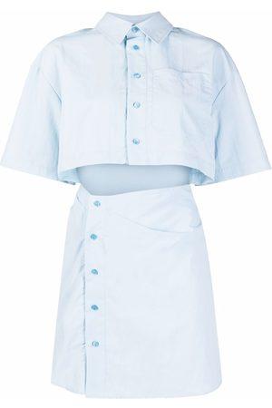 Jacquemus Women Party Dresses - Arles cut-out mini dress