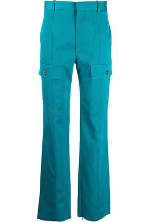 Bottega Veneta High-waisted straight-leg trousers