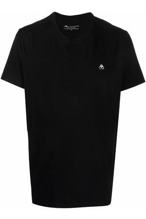 Moose Knuckles Embroidered-logo short-sleeve T-shirt