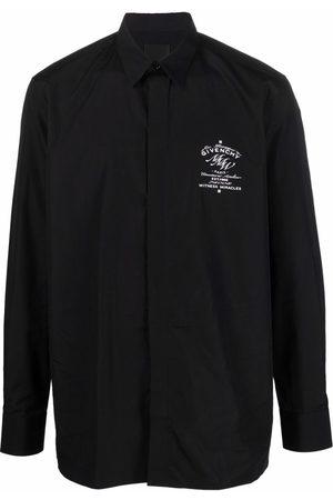 Givenchy Logo-print long-sleeve shirt
