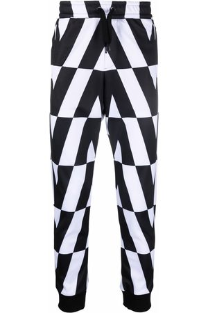 VALENTINO Optical tapered trousers
