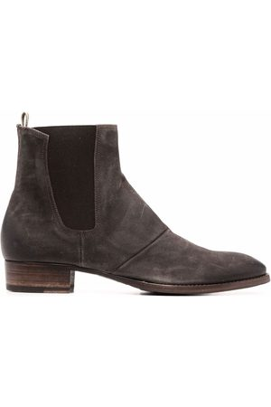 Officine creative Elasticated sides ankle-boots - Grey