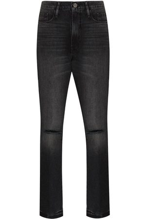 Frame Women Skinny - Le Sylvie knee-slit skinny jeans