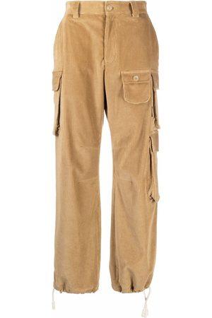 Palm Angels Corduroy cargo trousers - Neutrals