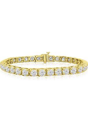 SuperJeweler 9 3/4 Carat Diamond Tennis Bracelet in 14K