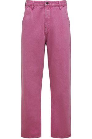 Jacquemus Men Straight - Le De Nîmes Straight Cotton Denim Jeans