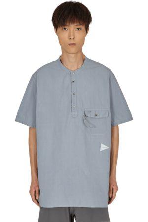and wander Men Short Sleeve - Cordura typewriter short sleeve shirt